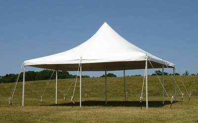 30' x 30' White Canopy Tent