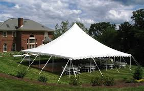 40' x 40' White Canopy Tent