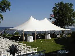 40' x 60' White Canopy Tent