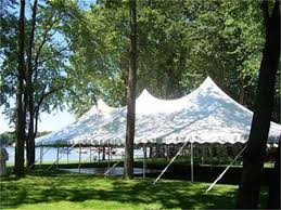 40' x 80' White Canopy Tent