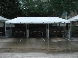 10'x30' White Frame Tent