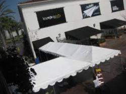 10'x40' White Frame Tent