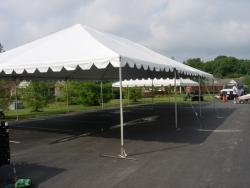 30' x 45' White Frame Tent