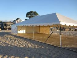 30' x 50' White Frame Tent