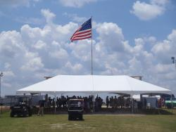 30' x 60' White Frame Tent