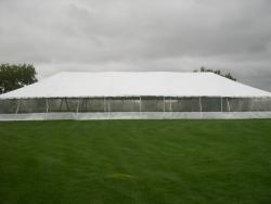 40' x 100' White Frame Tent