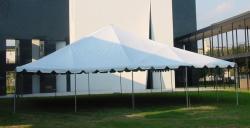 40' x 40' White Frame Tent
