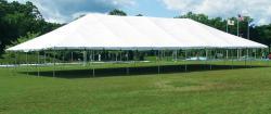 40' x 80' White Frame Tent