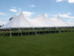 60' x 100' White Peak Tent