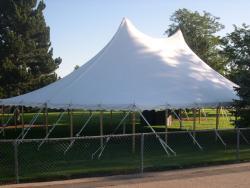 60' x 40' White Peak Tent