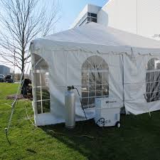 Tent Heater w/100 # tank propane