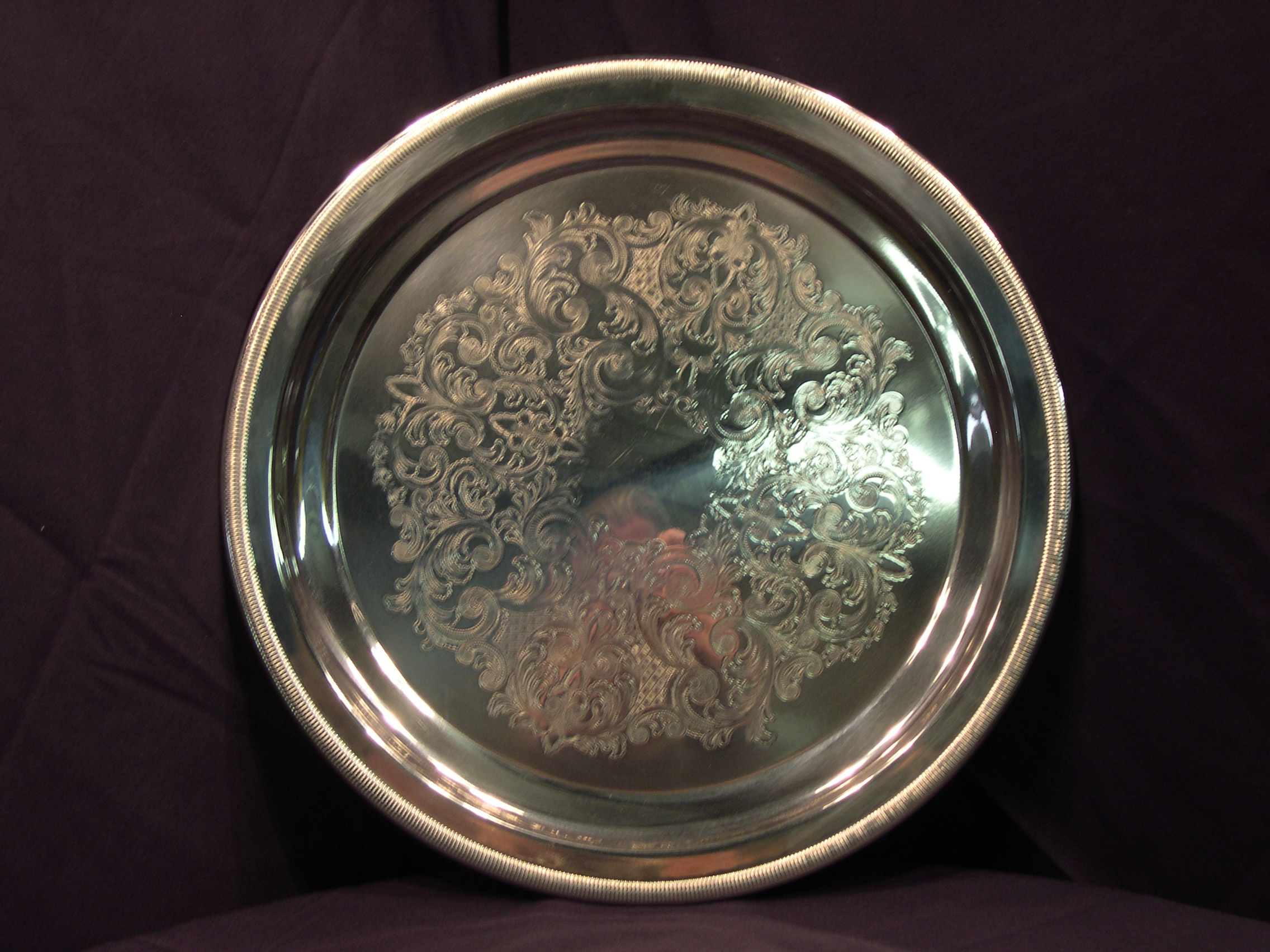 Silver Serving Tray (18)